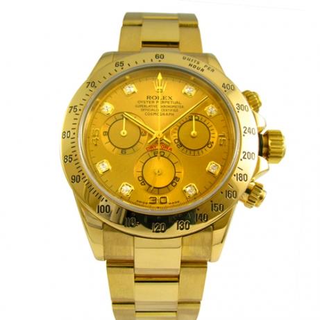 ロレックス 買取 デイトナ 116528g ゴールドダイヤ