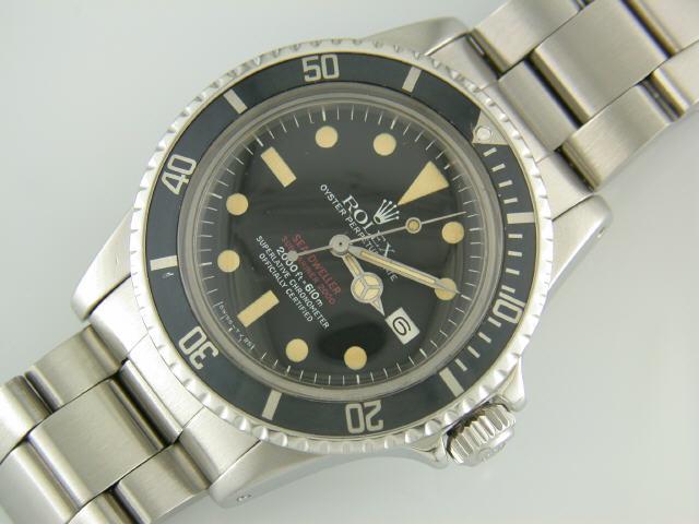 buy popular 6ac46 a57c9 ロレックス アンティーク シードゥエラー 1665 買取価格を調査 ...