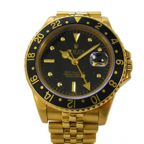 ロレックス 買取 GMTマスター 16758 ゴールド