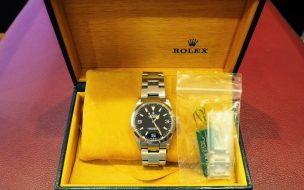 ロレックス買取エクスプローラー1Ref.114270価格