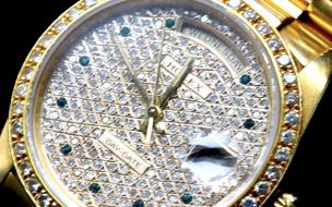 ロレックス用語・全面ダイヤモンド文字盤