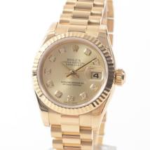 ロレックス,買取,レディデイトジャスト,金無垢,イエローゴールド,179178G,ダイヤモンド