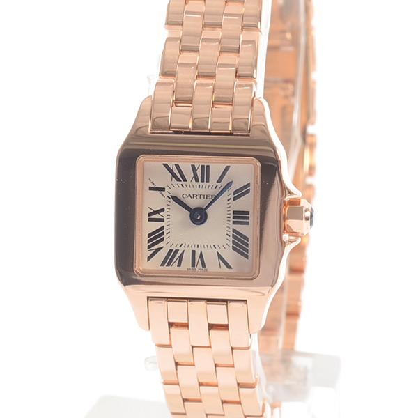 new product 197bd e9bc9 W25077X9を売るなら|買取店別カルティエ時計 サントス ドゥ ...