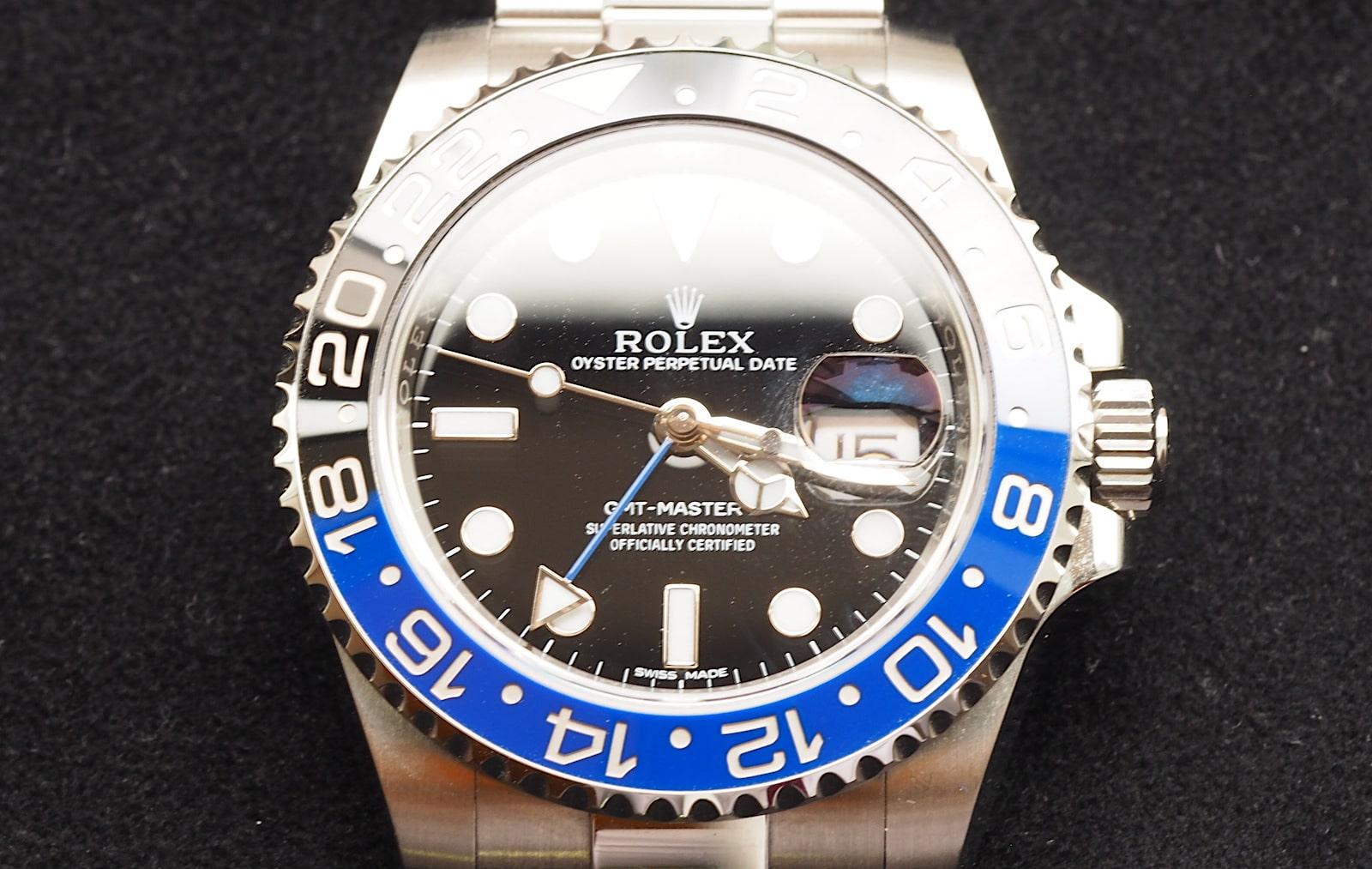 GMTマスター2買取116710blnr青黒