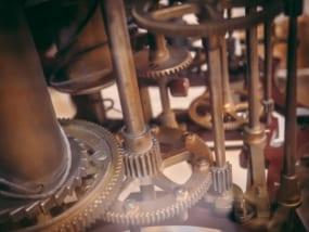 歯車,時計