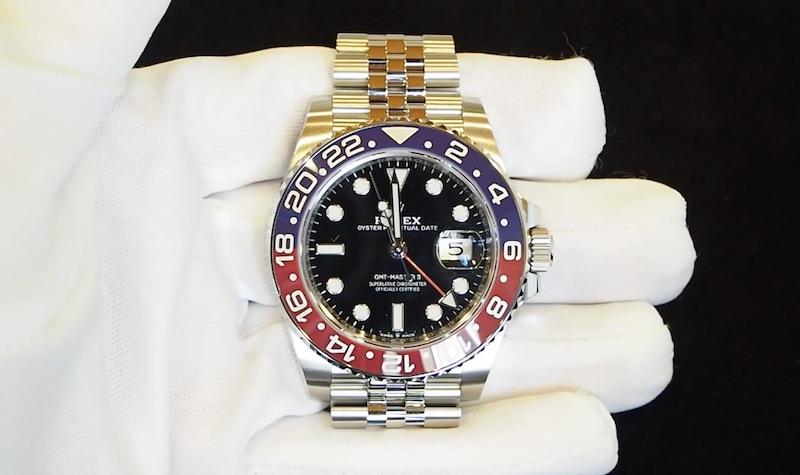 GMTマスター買取126710ペプシ