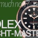 ロレックス ヨットマスター1,2の買取相場|2019年10月版