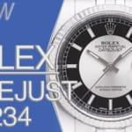 ロレックス デイトジャスト36 シルバー/ブラック Ref.116234とは|特徴・スペック・価格など