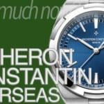 ヴァシュロン・コンスタンタン  オーヴァーシーズ 買取相場 2020年2月版 |ブランド時計の価格情報