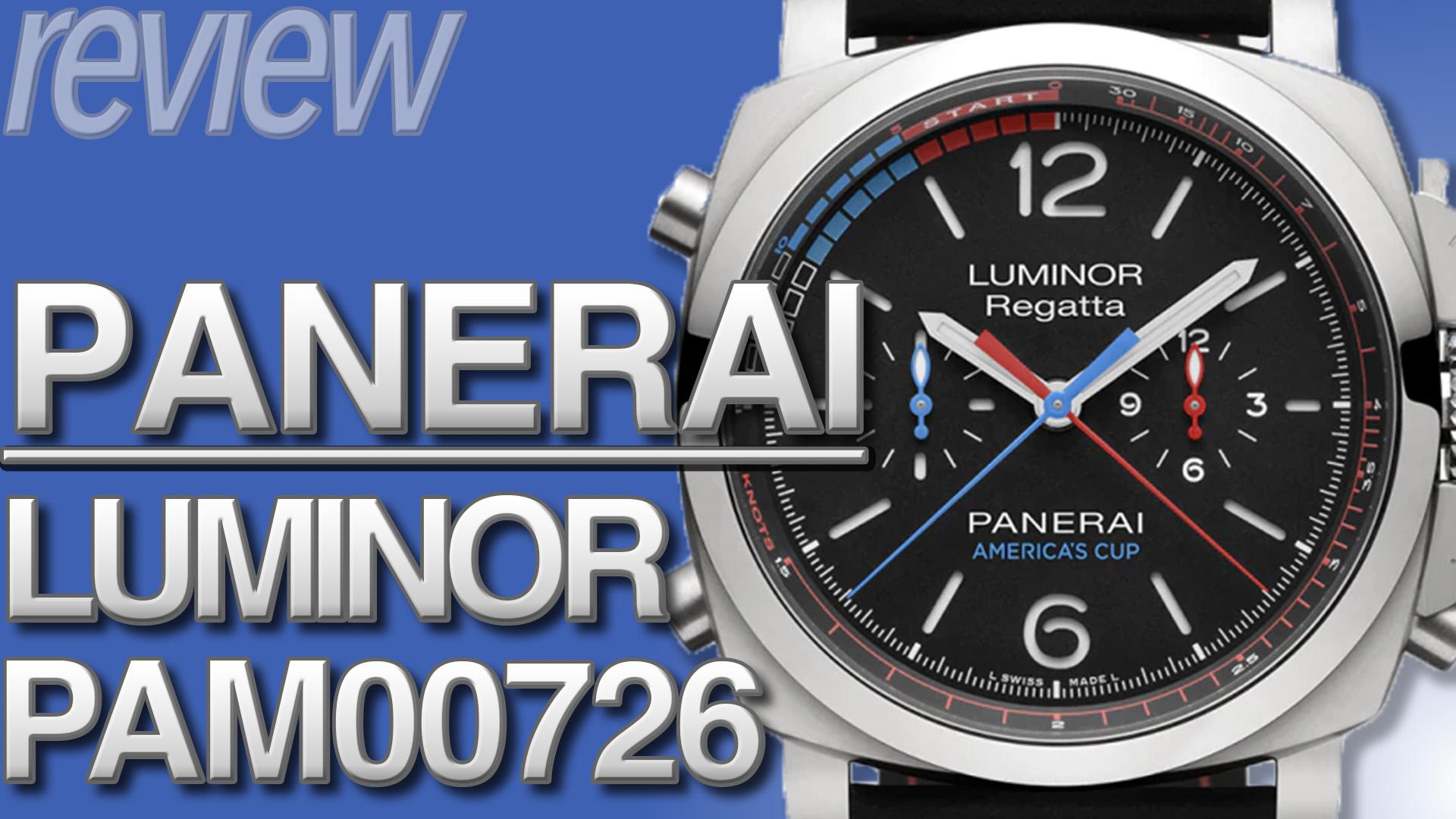 パネライ ルミノール1950オラクル・チームUSA PAM00726 とは|特徴・スペック・価格など