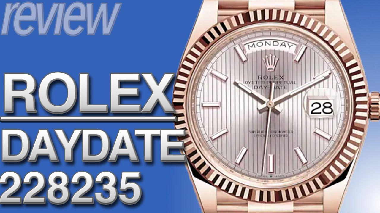 ロレックス デイデイト40 Ref.228235 とは|特徴・スペック・価格など