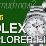エクスプローラー1,2 買取相場まとめ 2020年5月版 |ロレックス時計の価格情報