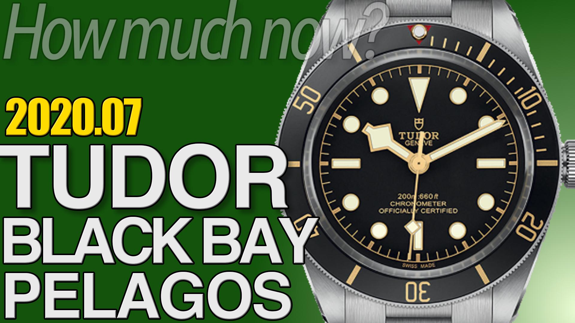 ブラックベイ、ペラゴス 買取相場まとめ 2020年7月版 |チューダー時計の価格情報