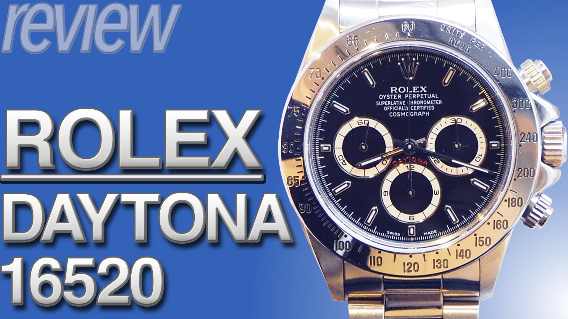 ロレックス デイトナ Ref.16520(先々代モデル) とは|特徴・スペック・価格など