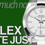ロレックス デイトジャスト 買取相場まとめ 2021年5月版 |ROLEX時計の価格情報